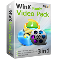 WinX Family Video Pack (for 6 PCs)