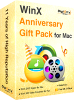 WinX Anniversary Gift Pack for Mac